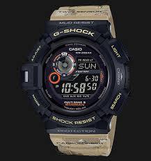 Jam Tangan G Shock Pertama casio g shock gw 9300dc 1jf master in desert camouflage mudman