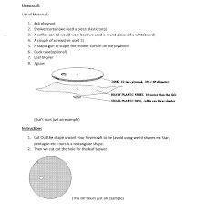 hovercraft physics project 4 steps