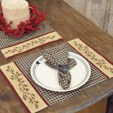 Primitive Table Runners by Piper Classics Country Kitchen Table Runners