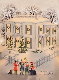 526 best old fashioned christmas cards buildings images on