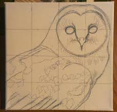 how to paint a barn owl animal art by imi