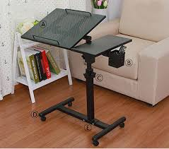 adjustable movable laptop table premium movable mini laptop table with mouse board pen holder
