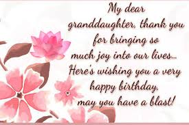 new top 20 birthday wishes for granddaughter quotes u0026 messages