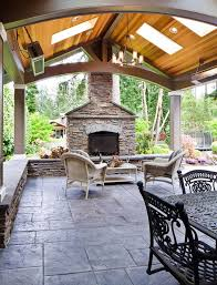 The  Best Stamped Concrete Patios Ideas On Pinterest Concrete - Concrete backyard design ideas