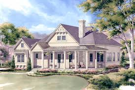 One Level Living Floor Plans Southern Living Floor Plan Chester U0027s Creek Cottage One Level