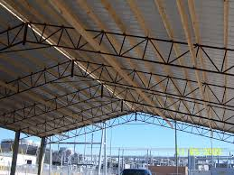 Garage Roofs Pole Barn Roof Truss Roofing Decoration