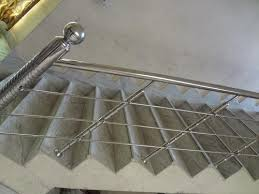 Stainless Steel Banister Rail Stainless Steel Hand Rail Manufacturer From Chennai