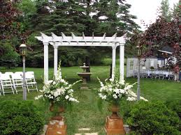 pergola design magnificent wedding ceremony arbor ideas wedding