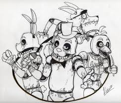 five nights at freddy u0027s coloring pages u2013 wallpapercraft