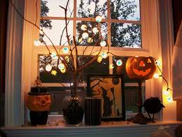 sumptuous interior home halloween celebration deco featuring