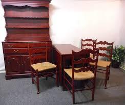 Amish Rustic Primitive  Barn Wood Furniture Gorgeous Vintage - Pennsylvania house dining room set