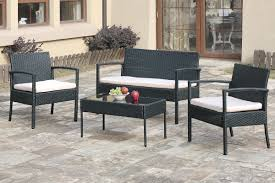 Outdoor Resin Chairs Summer Winds Patio Set Steel Collections