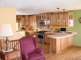 Hickory Wood Kitchen Cabinets 7 Best Hickory Cabinets With Glaze Images On Pinterest Custom