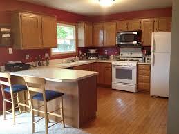 modern kitchen burl maple paint colors for honey oak cabinets