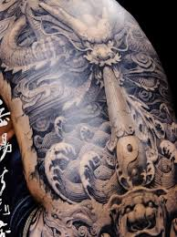 asian back piece tattoo design tattooshunt com
