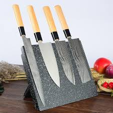 fourniture de cuisine bois magnétique porte couteau pliable cuisine multifonctionnel rack