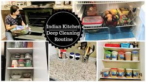indian kitchen deep cleaning routine ll how to deep clean your