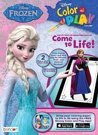 disney frozen color u0026 play ultimate sticker poster activity book