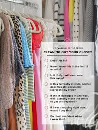 spring cleaning closet 7 questions to ask when cleaning out your closet organizing