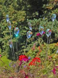 hanging crystals garden décor ornaments accessories