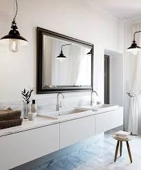 floating vanity transitional bathroom meredith heron design