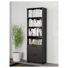 Bookcase With Doors Black Brimnes Bookcase Black Ikea