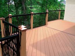 deck glamorous plastic wood decking composite decking reviews