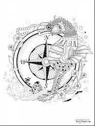 good under sea fish coloring page with seahorse coloring pages