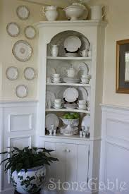 dining room corner hutch summer cupboard stonegable