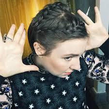 freeze braids hairstyles lena dunham hair sundance allure