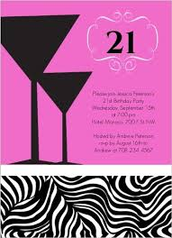 22 best 21st birthday party invitations and ideas pink and black
