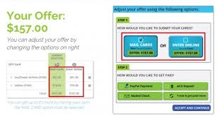 selling gift cards online abc gift cards and cardcash now offering the same payout whether