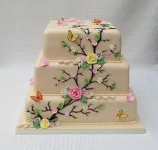 where can i get an edible image made 3 tier chagne wedding cake with sugar paste flowers and royal