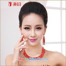 wedding dress necklace early spread korean bridal jewelry kit wedding dress wedding