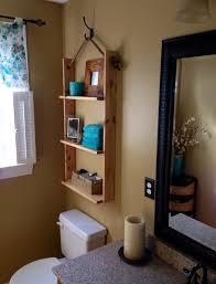 hanging shelf bathroom storage diy thatcraftymommyblog diy