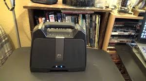 Rugged Boombox G Project G Boom Rugged Wireless Boombox Review Youtube