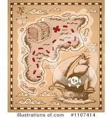 treasure map clipart treasure map clipart 1107414 illustration by visekart