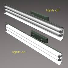 Industrial Fluorescent Lighting Fixtures Model Vintage Fluorescent Light Fixture