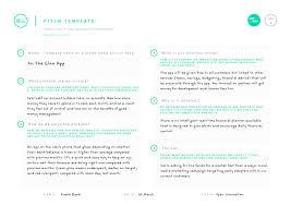 pitch template u2013 100 open