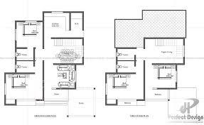 contemporary home floor plans modern contemporary home designs kerala home design