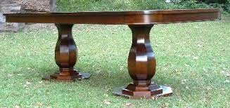 Two Pedestal Dining Table Holmes Fine Furniture