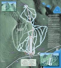 Mt Hood Trail Map Willamette Pass Piste Map Trail Map