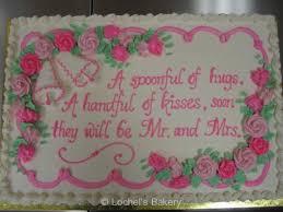 wedding shower cakes bridal shower lochel s bakery lochel s bakery