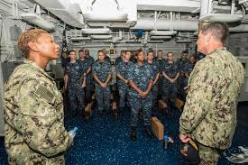 Navy Map Program Cvn 72 Sailors Receive Advancement Through The Map Naval Today