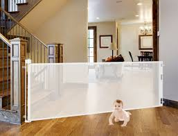 Retractable Room Divider Retractagate Made In Usa Retractable Safety Gates For A Baby