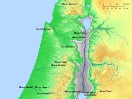 Blank Map Of Israel by Free Bible Images Maps Of Israel And Its Regions In The New