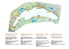 Geneva Map 176 Km Tour Of The Lake Geneva Geneva Cyclotour