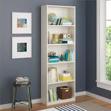 dorel core 5 shelf bookcase multiple colors