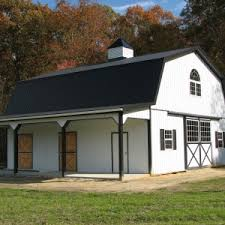 Gambrel Roof Barn Plans Architecture Charming Exterior Design For A House Using Gambrel