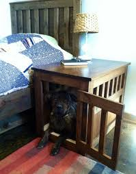 Wooden Crate Nightstand Furniture For Your Pets Gloria Deo Furniture Llc